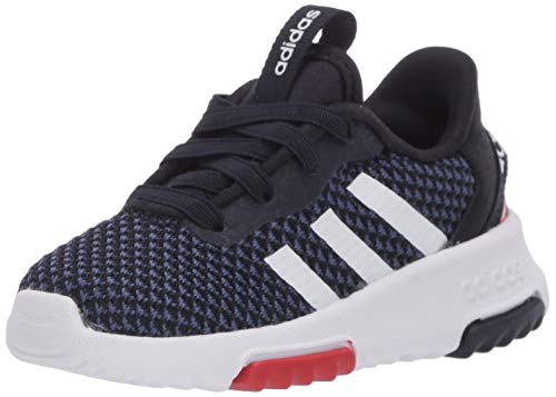 adidas Kids Racer TR 2.0 Running Shoe, Ink/White/Indigo, 4 US Unisex Toddler
