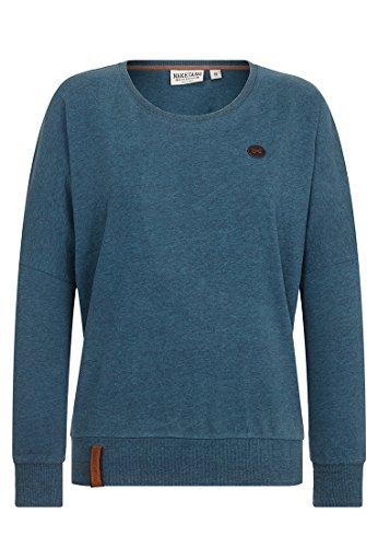Naketano Damen Longsleeve Green Schmusi IV T-Shirt LS