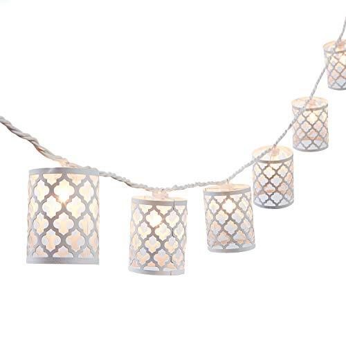 NIOSTA Decorative Lanterns String Lights: 10 Lights- 9 Ft Plug in Home Backyard Window Living Room Bedroom Ambience Decoration Lights