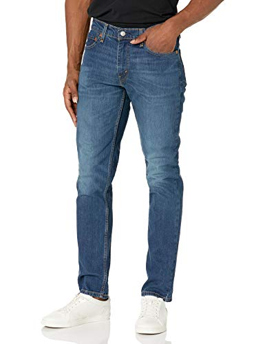Levi's Herren Jeans 511 Slim Fit Stretch - Blau - 33W / 30L