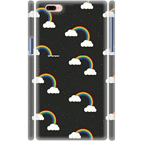 Conchas De Plástico Duro Diseño Rainbow Stripes Niña Compatible con Appleiphone 4.7Inch 6 6S Durabilidad