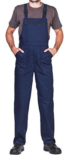 Pantaloni da lavoro uomo, taglie grandi fino S-3XL, Made in EU, colori diversi, tuta da lavoro uomo qualità (L, Blu Navy)