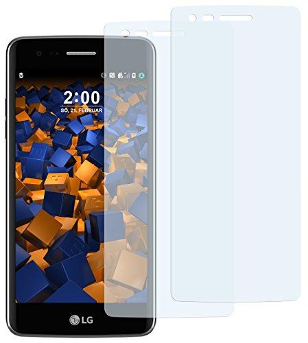 mumbi Schutzfolie kompatibel mit LG K8 2017 Folie klar, Bildschirmschutzfolie (2X)