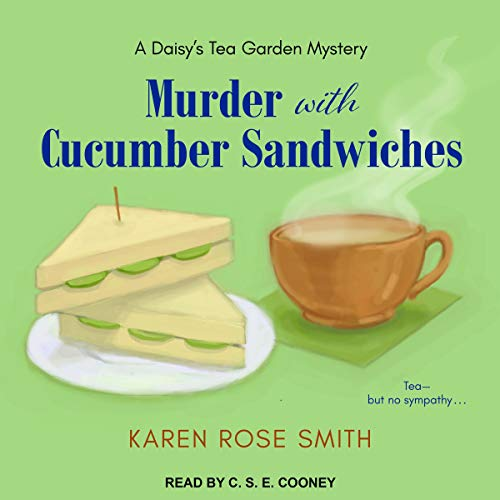 Murder with Cucumber Sandwiches  By  cover art