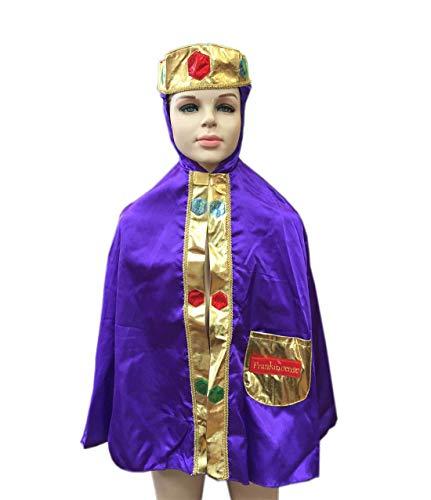 FashioN HuB Disfraz de príncipe medieval para niños, de 3 a 4 años