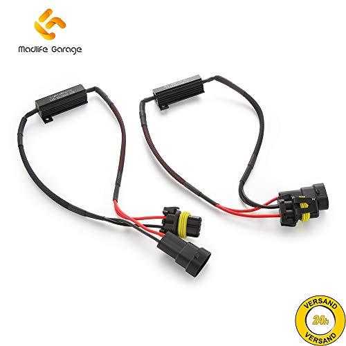 2 x Madlife Garage HB4 9006 Nebelscheinwerfer CanBus Lastwiderstand LED SMD Widerstand ohne Fehlermeldung