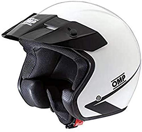 OMP OMPSC607E020XL Cascos, Blanco, Talla XL