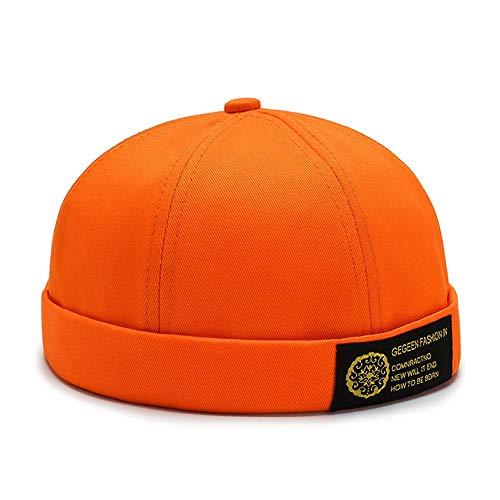 LSJYF Baseball cap Persoonlijkheid Mode Vier Seizoenen Landheer Hoed Street Hipster Hip Hop Hoeden Luifel Lederen Cap Mannen Dames Universeel