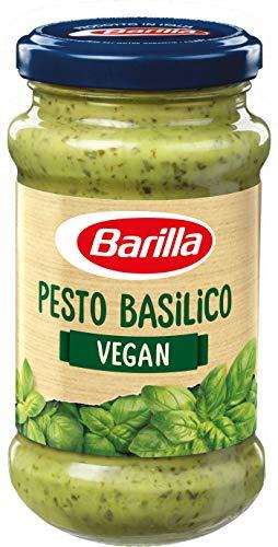 Barilla grünes Pesto Basilico vegan – Pesto 8er Pack (8x195g)