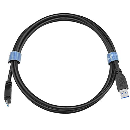 Morninganswer Cable Micro USB 3.0 de 1 m 1,5 m Duradero de diseño Exquisito Cable USB3.0 Tipo A a Micro B para Disco Duro Samsung S5