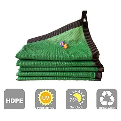 Sonnenschutznetz AGYH Schattiernetz, Grün Anti-UV-Sonnenschutz, Außenhof Dachterrasse Pool Sonnenschutz Stoff, Weich Und Atmungsaktiv, Leicht Zu Installieren (Size : 5x8m)