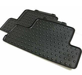 MINI Cooper Genuine Factory OEM 51470416194 REAR All Season Floor Mats 2007 - 2012 (set of 2 rear mats) (not for Clubman, Convertible or Countryman)
