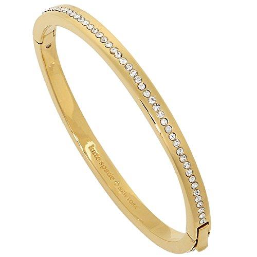 Kate Spade Ring It Up Pave Bangle Bracelet Gold/Clear