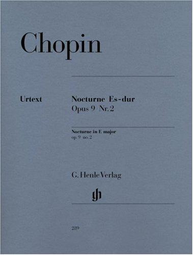 Nocturne Es-dur op. 9,2: Klavier zu zwei Händen