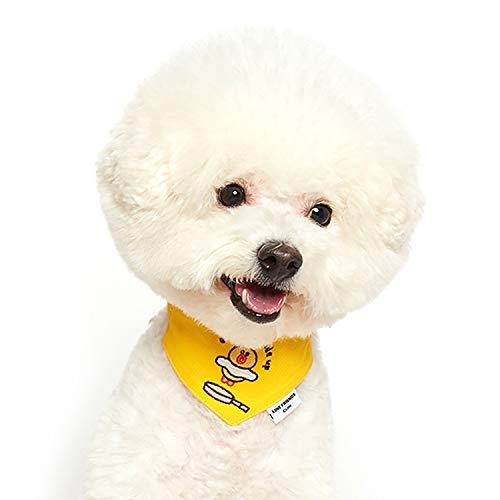 ODD PET Line Friends Gürtelschal - Hundeschal Bandana - Charakter Schal für Hund - Figur Stickerei - einfach anzuziehen, Sally