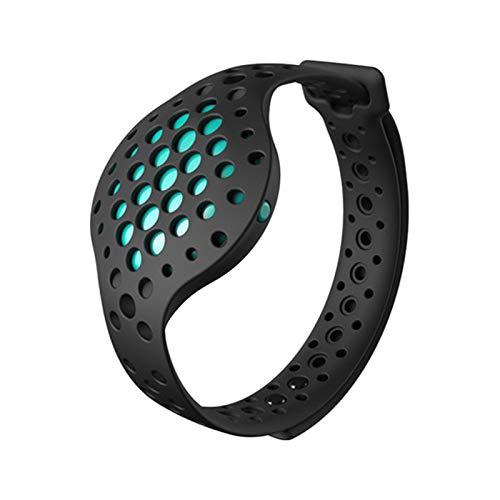 Shumo Au?en Sports Armband 3D Fitness Tracker und Echt Zeit Audio Moov Jetzt Wasserdicht Sport Rekord Abnehmen übung, Smart Wristband für Android und Ios - Blau