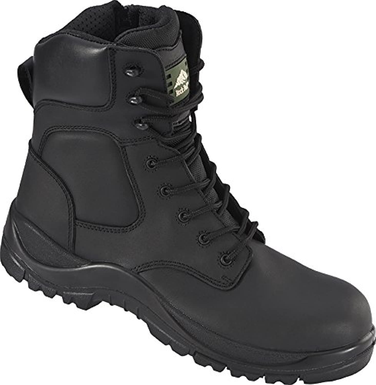 Rock Fall RF333 Melanite 4 Safety Boot, Black, 4