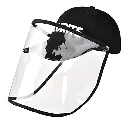 Gorra anti-virus, gorra de saliva antivaho, gorra de protección para los ojos, sombrero de pescador de moda para hombres y mujeres,médica,N95(Series 1) (A)