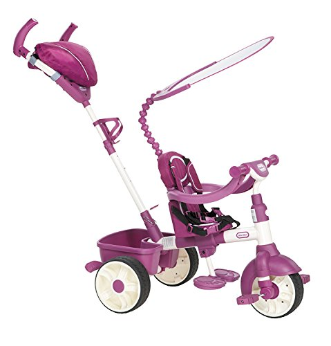 Little Tikes 4-in-1 Trike Ride On, Pink/Purple, Sports Edition , Red -  MGA Entertainment, 634369E4