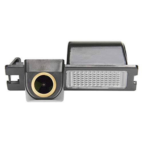 HD D'oro Telecamera per retromarcia (1280x720p) Telecamere posteriori impermeabile Visone Notturna Retrocamera per Fiat Bravo Brava Grande Punto Avventura Grand Siena