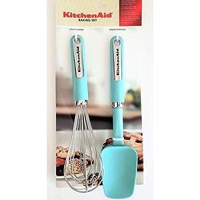 KitchenAid Classic Baking Tool Set, Set of 2, Aqua Sky