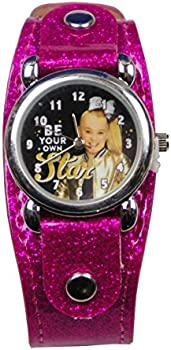 UPD JoJo Siwa Analog Watch with Metal Face & Glitter Band in Window Box