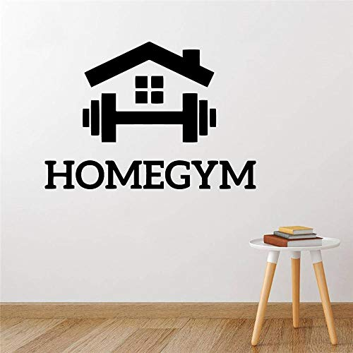 Wall Stickers Murals,Cartoon Gym Decoration Vinyl Wall Decals,For Fitness Rooms Decor Gym Sticker Wall Decal Wallpaper Murals Art Room Decor 57X81Cm,Wall Stickers For Bedrooms Wall Mural