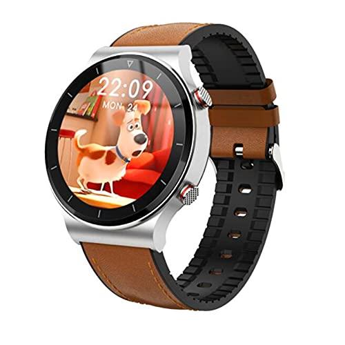 LOVOUO Smartwatch Explosivo Reloj Inteligente Deportivo a Prueba de Agua IP67 de 1,28 Pulgadas (Seguimiento de la Actividad física, monitorización del sueño del Ritmo cardíaco)