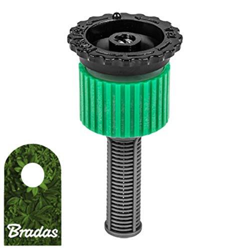 Bradas 5168 - Boquilla de riego para aspersores Pop-Up (Ajustable 0-360°, 4 m)