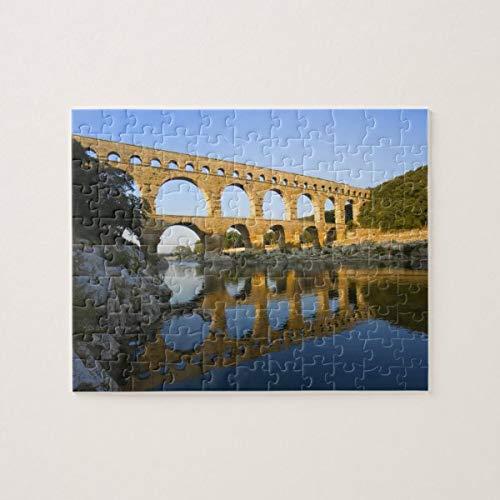 CICIDI France, Avignon. The Pont du Gard Roman Aqueduct Jigsaw Puzzle 1000 Pieces for Adult Entertainment DIY Toys , Graet Gift Home Decor