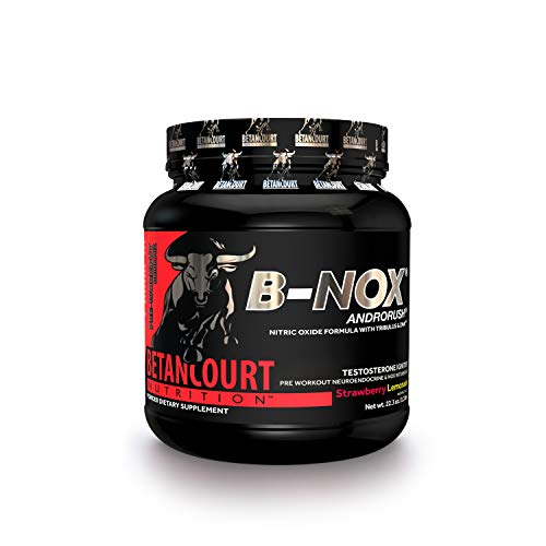Betancourt Nutrition B-Nox Andorush Pre-Workout, Strawberry Lemonade, 22.3 Ounce