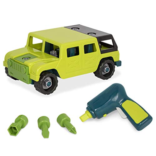 Battat-(25 pieces) Toy Car Playset (Branford Ltd. BT2518Z) , color/modelo surtido