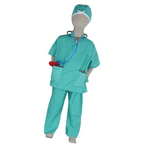 Enfant Chirurgien Halloween Costume Déguisement Fourniture Jouet De Rôle Party Cadeau