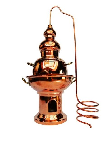 Copper Garden Aromalampe Alembik, groß