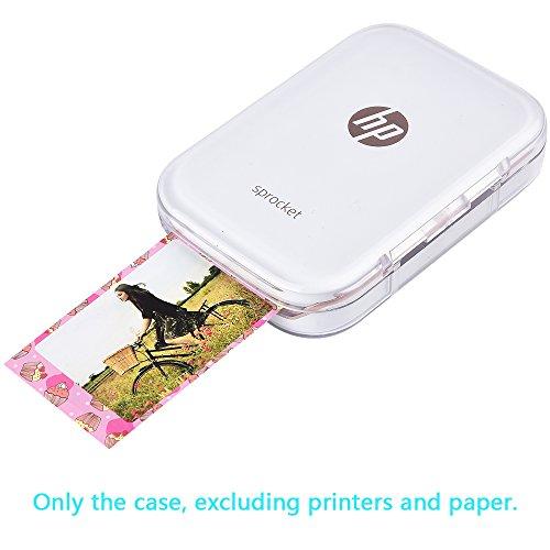 Katia Hard Case Compatible for HP Sprocket Portable Photo Printer. Hp Sprocket Case, Also fits Polaroid Zip Mobile Printer/Zink Zero Ink Printing Technology/Polaroid Snap Instant Digital Camera