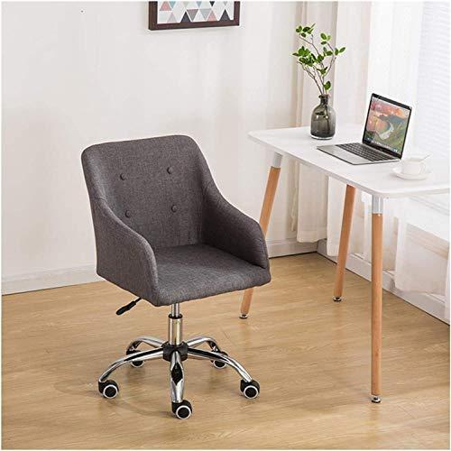 Moderna silla de oficina tela silla de computadora moderna mediana parte trasera tela de ropa domiciliaria oficina de tareas