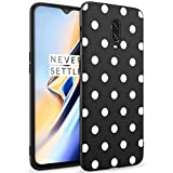 ZhuoFan OnePlus 6T Case, Phone Case Silicone Black with