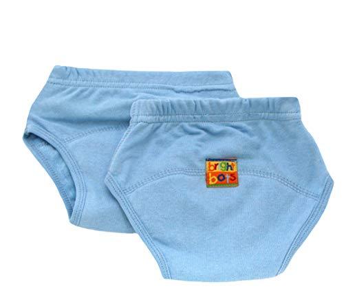 Bright Bots Lot de 2 pantalons d'entraînement pour pot Bleu pâle Taille S environ 12 mois