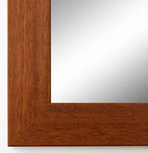 Online Galerie Bingold Spiegel Wandspiegel Badspiegel - Braun 4,0 - handgefertigt - 200 Größen zur Auswahl - Modern, Landhaus - 60 x 70 cm