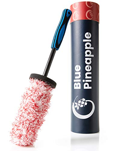 BLUE PINEAPPLE® Felgenbürste Alufelgen - Mikrofaser/Extrem Felgenschonend - Felgenreiniger Bürste - inkl. Anleitung für Perfekte Pflege