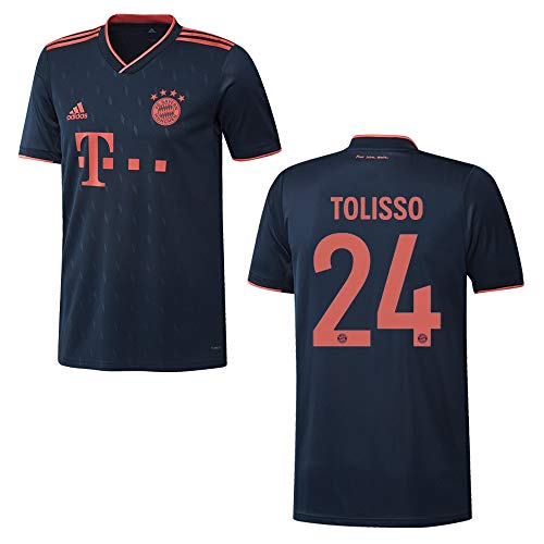 adidas Bayern Trikot 3rd Herren 2020 - TOLISSO 24, Größe:S