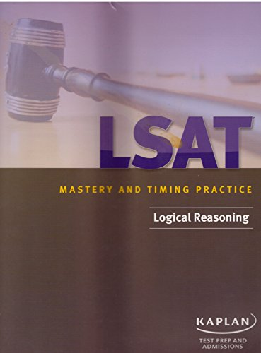Lsat Mastery And Timing Practice Logical Reasoning Test Prep And Admissions