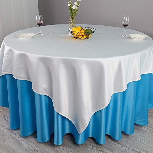 sans_marque Mantel de mesa, cubierta de mesa, funda de mesa lavable que se puede utilizar para decoración de mesa de cocina, decoración de buffet, mantel lavable, círculo de 3,8 cm