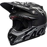BELL MX-9 MIPS 7111392 Casco Moto, Multicolore (M/G Black/White/Gray), L