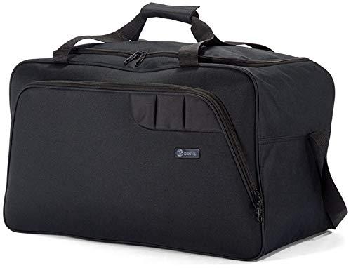 Benzi Bolsa de Viaje 40 x 25 x 20 cm BZ5410 Tamaño Equipaje de Mano Ryanair (Negro)