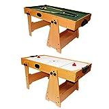 DEMA Spieltisch 2in1 Billard