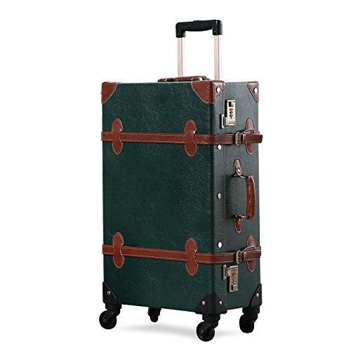 Uniwalker スーツケース 超軽量 キャリーケース 復古主義 トランク 旅行 出張 大容量 静音四輪 s型 キャリーバッグ 機内持込