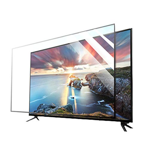 KELUNIS 32-65 Zoll TV Displayschutzfolie, Anti-Blaulicht-LCD-Display Displayschutz Strahlenschutz/Anti-Myopie Antireflexionsrate Bis Zu 90%,32
