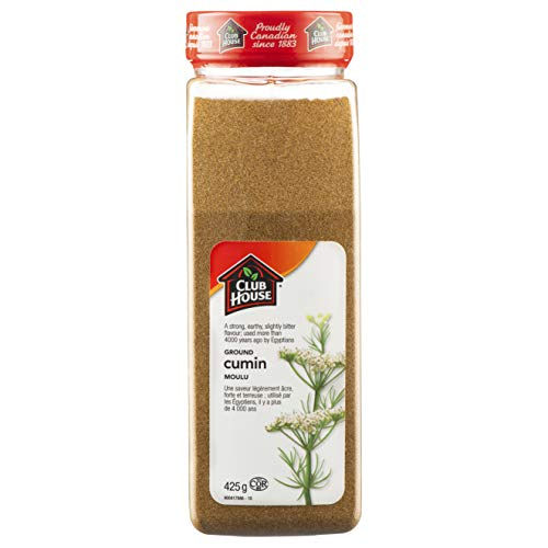 Club House, Quality Natural Herbs & Spices, Ground Cumin, 425g