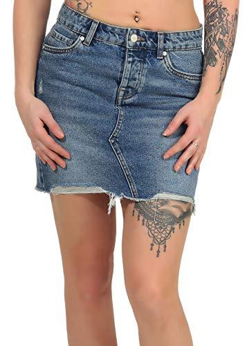Only onlSKY REG DNM Skirt BB PIM992 Noos Falda, Mezclilla De Color Azul Claro, Talla del Fabricante: 40 para Mujer